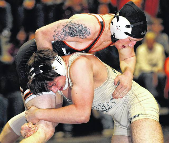 Tunkhannock and Wyoming Area will both be back on the mats at Tunkhannock High School on Wednesday with the opening rounds of the District 2 Class 2A Dual Tournament. The Tigers face Montrose while the Warriors lock up with Blue Ridge, with the winners advancing to face each other.                                  Fred Adams file photo | For Times Leader