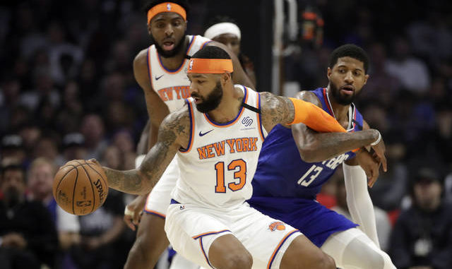 NBA: Clippers get 30 plus from 3 players, beat Knicks 135