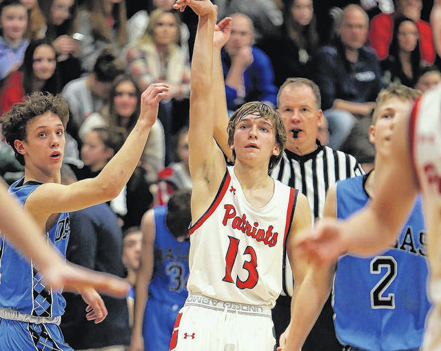 H.S. boys basketball: Pittston Area sophomore JJ Walsh scores 33 in win over Dallas