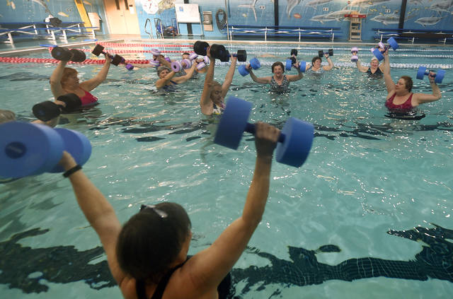 The Arthritis Foundation Aquatics Program at the Wilkes-Barre YMCA is among numerous free exercise programs for older adults offered through the Area Agency on Aging covering Luzerne and Wyoming counties. Aimee Dilger|Times Leader