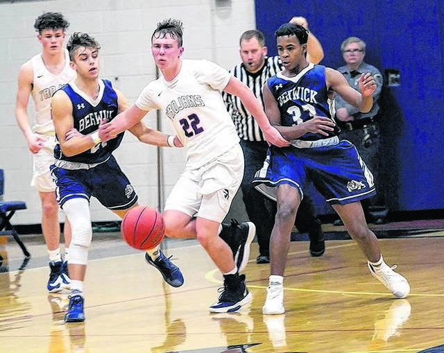 H.S. boys basketball: Nanticoke Area holds off Berwick in WVC Division 1 game