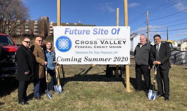Cross Valley FCU holds Sherman St. groundbreaking | Times Leader