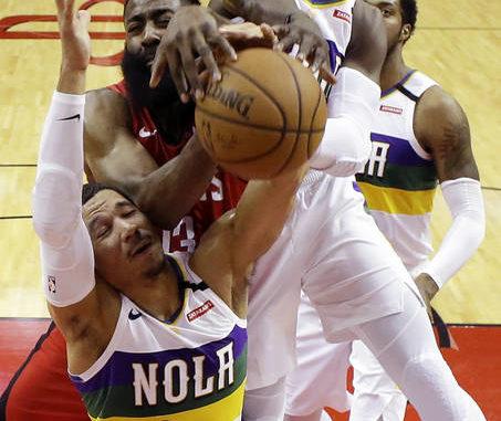 Chris Paul Red Houston Rockets OTS mens Player Rival Tee NBA Large