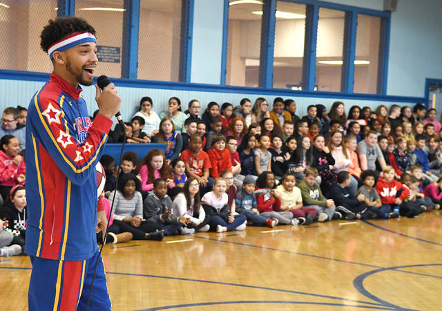 Globetrotter brings anti-bullying message to Hanover Area