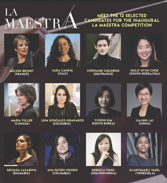 <p>Melisse Brunet, who just this week became conductor of the Northeastern Pennsylvania Philharmonic after serving as interim conductor since 2018, is one of 12 women conductors who will compete in March in the international La Maestra competition.</p>                                  <p>Submitted image</p>