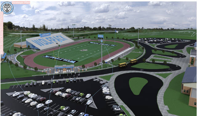 New high school update includes proposed stadium