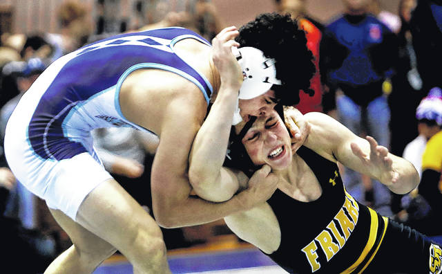 Wyoming Seminary's Beau Bartlett (top) will go for his fourth individual national championship this weekend as he looks to lead the Blue Knights to a team title.                                  Fred Adams file photo | For Times Leader