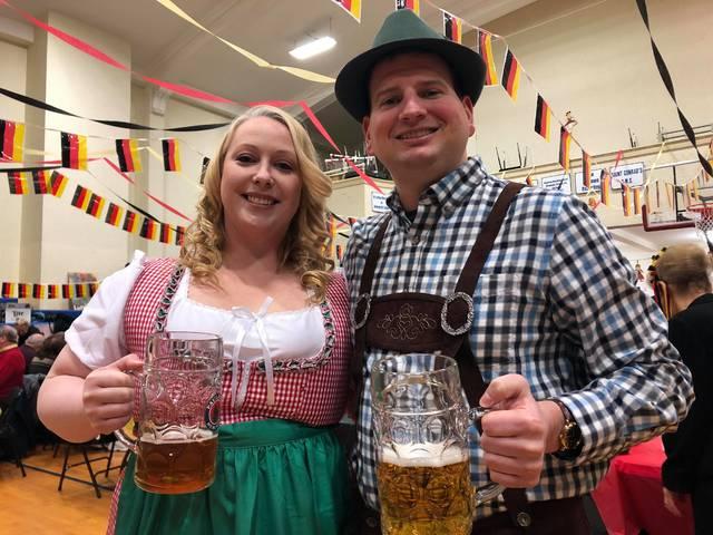 Beer, bratwurst and music: St. Nicholas hosts 55th German Night