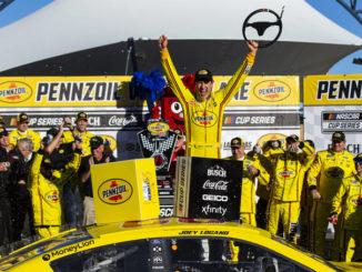 Joey Logano races to second straight Las Vegas victory