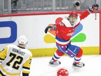 NHL: Caps end slide, move back into 1st place