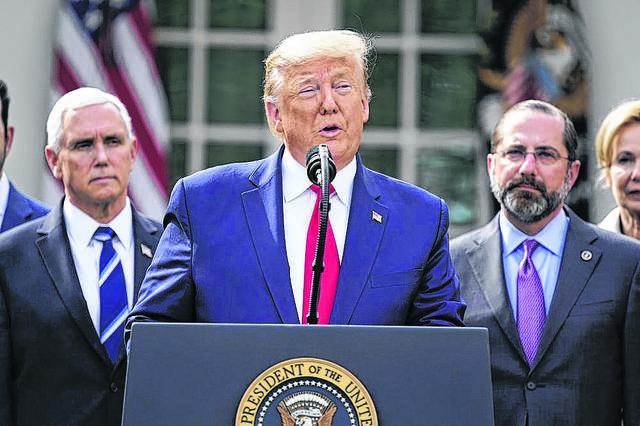 Trump awaits Coronavirus test | Times Leader
