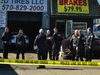 Man shot at Wilkes-Barre repair shop