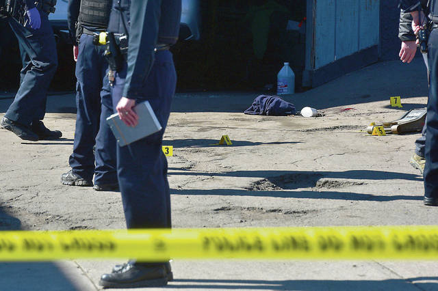 Wilkes-Barre police ID shooting victim; suspect still sought