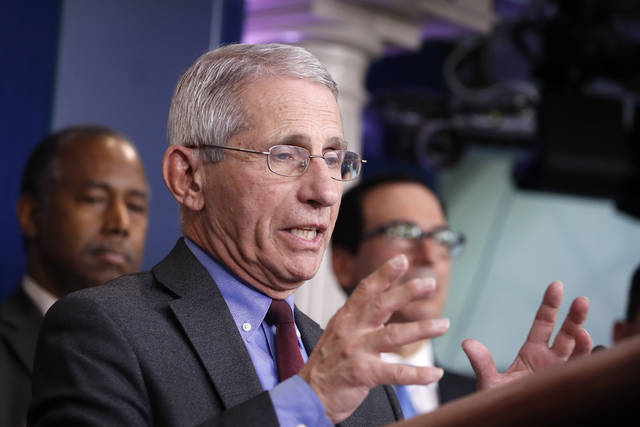 Fauci: US could see up to 200,000 deaths