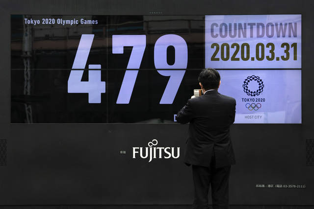 The countdown clock is clicking again for the Tokyo Olympics