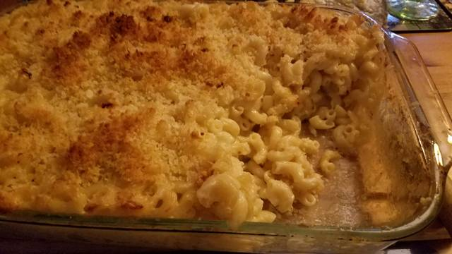 <p>Baking this lobster mac in individual gratin dishes, as the recipe calls for, would make for neater servings, especially if it is accompanied by other side dishes, but it's good enough to be star of a meal all it's own (or with a salad), baked in a large casserole dish.</p> <p>Mark Guydish | Times Leader</p>
