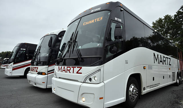 Martz buses to remain idle during pandemic.