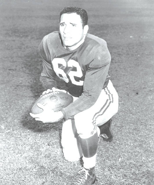 <p>Pittston's Charley Trippi was the only local player to be drafted first overall when the Chicago Cardinals selected him in 1945.</p> <p>Times Leader file photo</p>