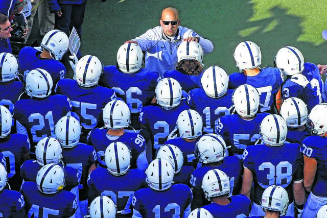 <p>Penn State coach James Franklin said the health of the players will be the No. 1 concern when formulating a plan for playing the next college football season.</p> <p>Gene J. Puskar | AP file photo</p>