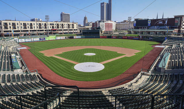 Fort Wayne's Parkview Field, a minor league baseball stadium, sits empty. Unlike top-tier leagues that can run on television revenue, it's impossible for some minor sports leagues in North America to go on in empty stadiums and arenas in light of the coronavirus pandemic. Mike Moore | AP file photo, The Journal-Gazette