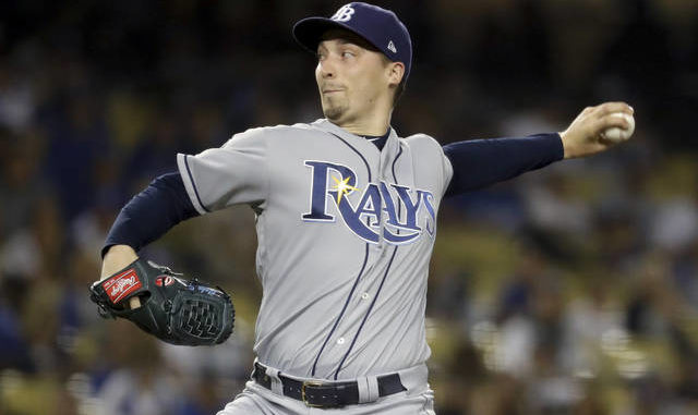 """Cy Young winner Blake Snell says he will not take the mound this year if his pay is cut further, proclaiming: 'I'm not playing unless I get mine,"""" on a live stream this week. Chris Carlson 