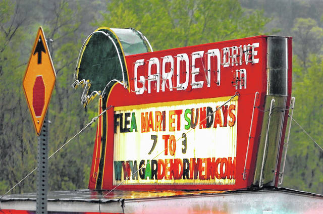 <p>The Garden Drive-In in Hunlock Creek opened for the first time this year on Friday night.</p>