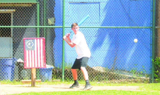 Teddy Drecher gets ready to knock the ball through the infield during the Keystone State Games Wiffle Ball competition at Diamond City Park in Wilkes-Barre last summer. This year's edition of the Games have been canceled due to the COVID-19 pandemic. Joe Soprano file photo | Times Leader