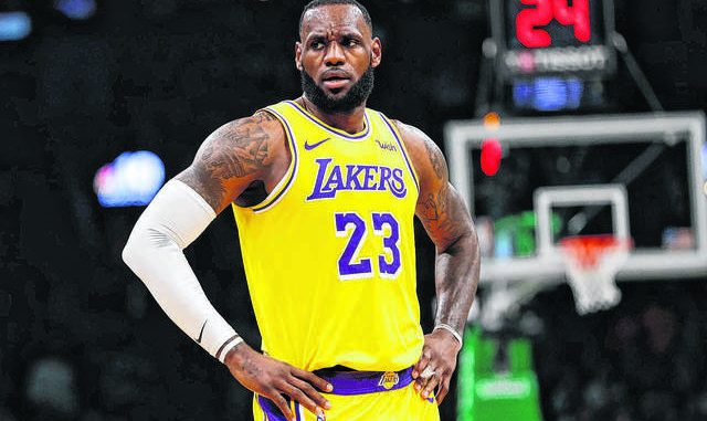 LeBron James, seen here, and several celebrities have joined the chorus of protesters calling for justice in the death of George Floyd. AP file photo