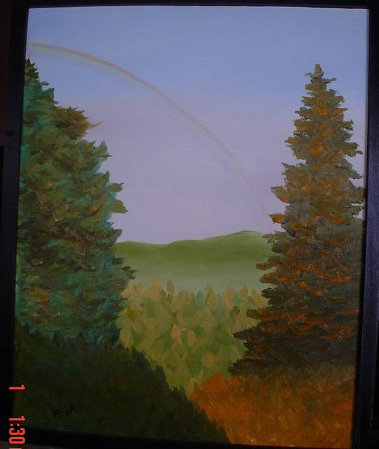 <p>Trees are a favorite subject for the nature-loving artist Frank Kluk of Wilkes-Barre Township.</p> <p>Submitted photo</p>