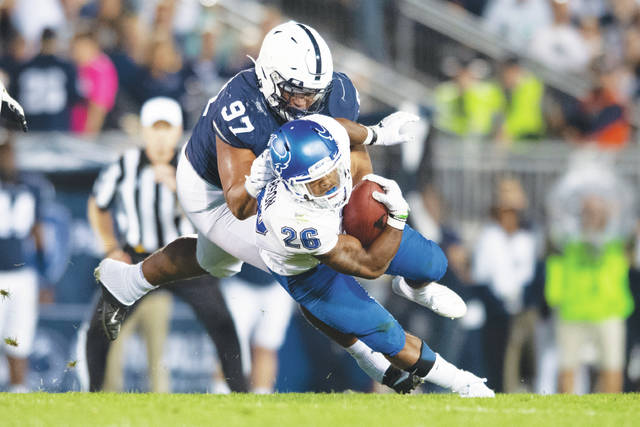 Penn State players speak out, listen to each other on racial injustice