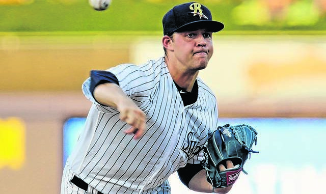 Despite battling injury, pitcher Michael King turned in some impressive performances during his brief stints in a RailRiders uniform. Times Leader file photo