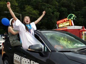 Hanover Area holds drive-in graduation