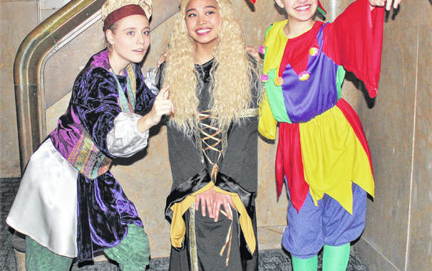 This file photo shows students costumed for a performance of 'Once Upon A Matress,' which was presented in February 2019 by the Coughlin/GAR/Creative and Performing Arts Academy Players. Times Leader File Photo