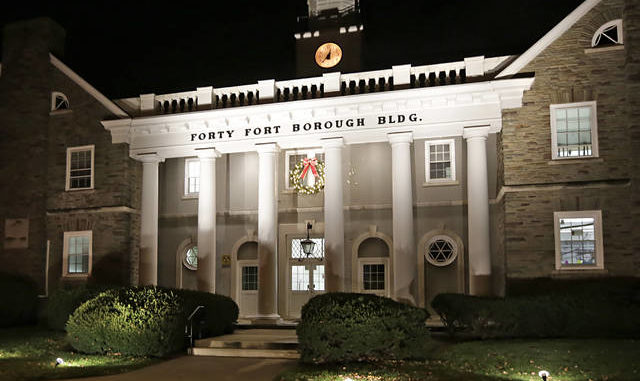 Forty Fort Borough Building. Times Leader file photo