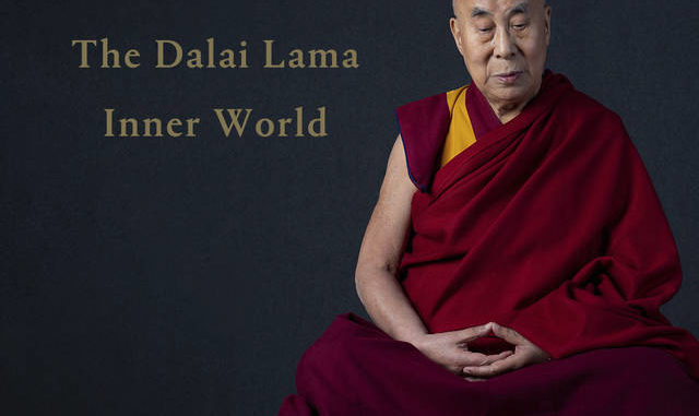 This cover image released by Hitco Entertainment and Khandro Music shows 'Inner World,' the first album by The Dalai Lama. AP photo