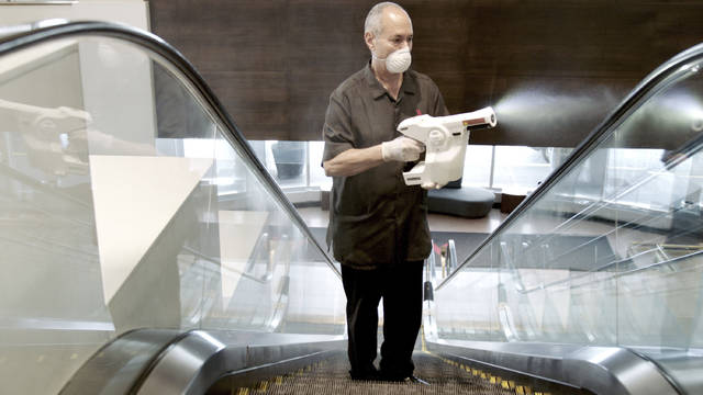 As business trickles back, hotels compete on cleanliness