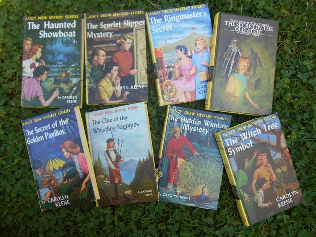 <p>These Nancy Drew mystery stories have taken the fictional teen-age sleuth to Louisiana, Virginia, Amish Country, Scotland and Hawaii — and sometimes the mysteries take place in her own hometown of River Heights.</p> <p>Mary Therese Biebel | Times Leader</p>