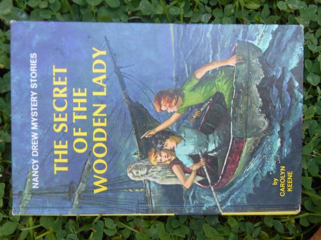<p>'The Secret of the Wooden Lady' is the first Nancy Drew book I read. The cover, featuring three young women and a mysterious figurehead, looked just eerie enough — but not too scary — to fascinate the 9-year-old I once was. You'll notice Nancy and her chums often wear dresses, even if they are rowing boats or searching through musty old attics.</p> <p>Mary Therese Biebel | Times Leader</p>