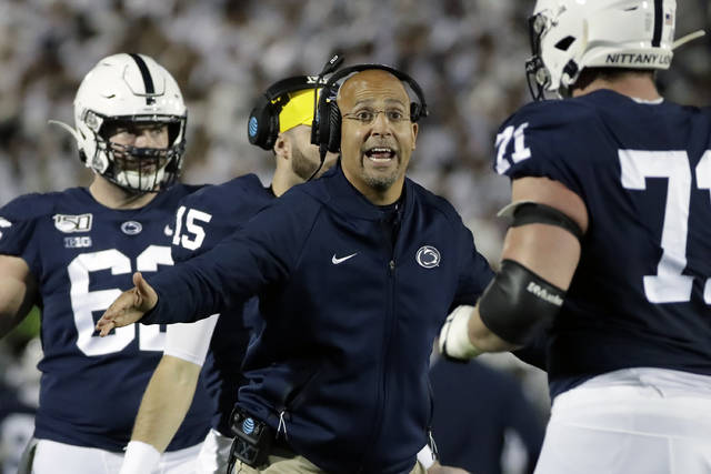Nittany Lions resume workouts after three-month layoff