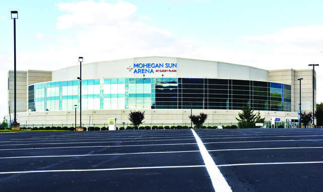 Officials overseeing the Mohegan Sun Arena in Wilkes-Barre Township are monitoring coronavirus-prompted hotel tax revenue declines because that funding is used to pay off the facility's capital debt. File photo