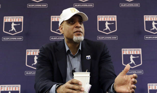 Major League Players Association Executive Director Tony Clark met one-on-one with MLB Commissioner Rob Manfred in Arizona Tuesday to discuss the 2020 season. Morry Gash   AP file photo