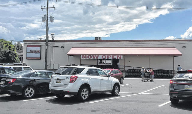 Schiff's Marketplace on Rutter Avenue in Forty Fort opened its doors to the public for the first time since acquiring the former Maine's Food and Party Warehouse.
