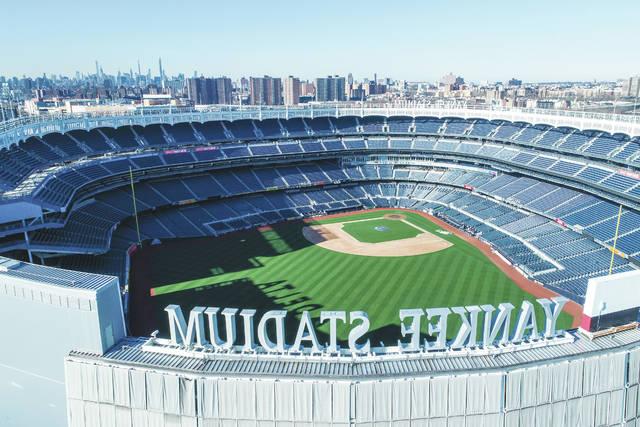 <p>Yankee Stadium won't be hosting fans this season, but it is set to host baseball games when play resumes on July 23 or July 24.</p> <p>John Woike   AP file photo, Samara Media</p>