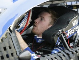 Chris Buescher clearly remembers being in a fog at Pocono Raceway