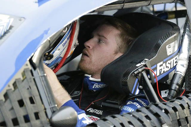 Chris Buescher, shown before practice for the season-opening Daytona 500, won his only NASCAR Cup Series race at Pocono Raceway in 2016 due to fog.                                  Terry Renna   AP file photo