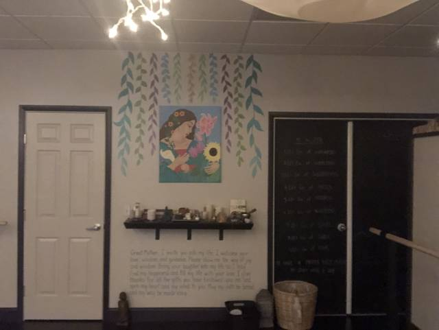 <p>A painting on the wall of the Zen Barre in Dallas. The Motion Yoga and Integrative Wellness Center will be opening up a new studio in the space on July 1. </p> <p>Kevin Carroll | Times Leader</p>