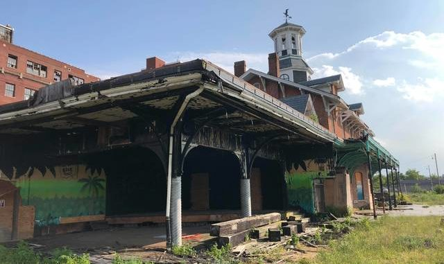 Blight cleanup group to take on former Wilkes-Barre station