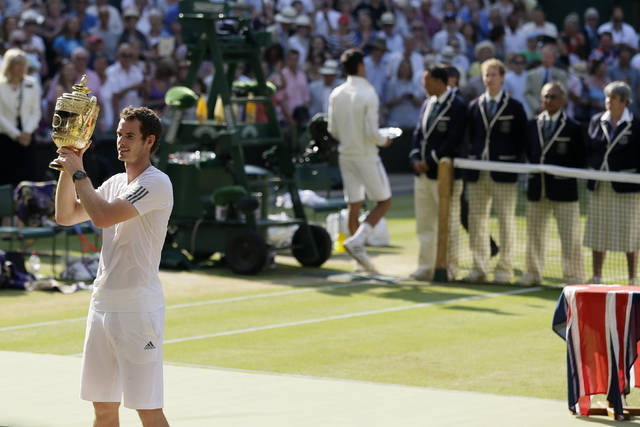 AP Was There: Murray ends Britain's 77-year Wimbledon wait