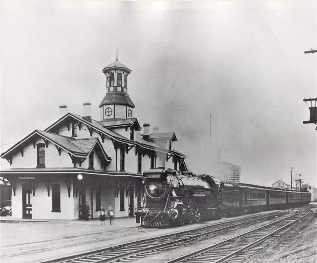 <p>A Central Railroad of New Jersey service known as The Bullet, which connected Wilkes-Barre with Jersey City, is seen at CNJ's Wilkes-Barre station. According to various railroad history sources, The Bullet was inaugurated in 1929 and only operated until 1931. The station was built in 1869 for the Lehigh and Susquehanna Railroad, which was leased by CNJ in 1871. Passenger trains served the station until 1963. It is now slated to be renovated for professional office space, with work set to get underway next month, developer George Albert said Saturday.</p> <p>Courtesy Wilkes-Barré Preservation Society</p>