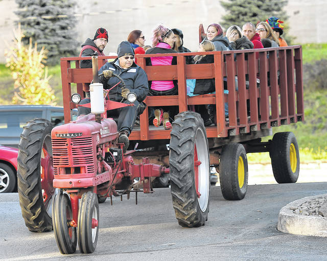 <p>Duryea Mayor Keith Moss operated a tractor ride during the Pittston City's 2nd Annual Trick or Treat on Main Street. held in 2016.</p>                                  <p>Tony Callaio | File photo</p>